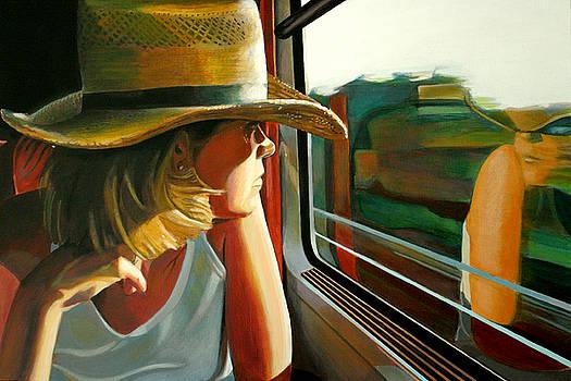 Carla traveling by Jose Roldan Rendon