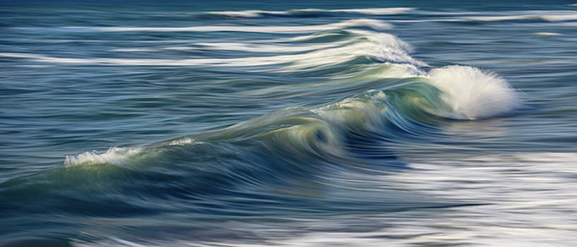 Carlsbad Wave Abstract by Steve Skinner
