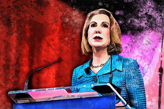 Carly Fiorina by Kai Saarto