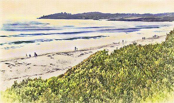 Steve Ohlsen - Carmel Beach 4 - Carmel California