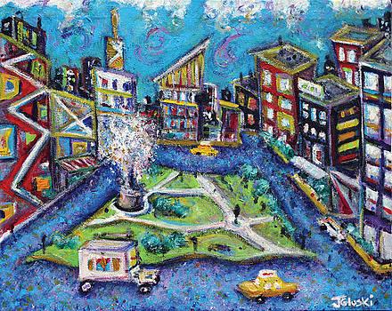 Carmine Street by Jason Gluskin