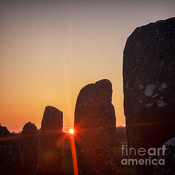 Carnac Sunrise by Colin and Linda McKie