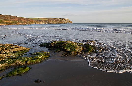 Carne Beach and Nare Head by Pete Hemington