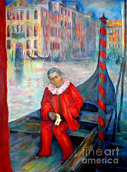 Carnaval in Venice by Dagmar Helbig