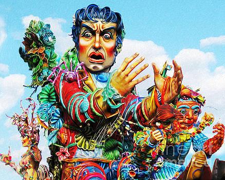 Carnivale di Sciacca by Joseph Re