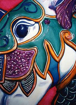 Carousel Horse I by Karla Horst