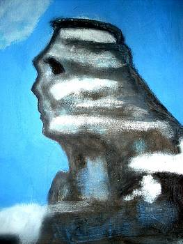 Carpathians Sphinx by Elena Buftea