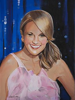 Carrie Underwood by Bill Dunkley