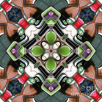 Cars In A Kaleidoscope by Phil Perkins