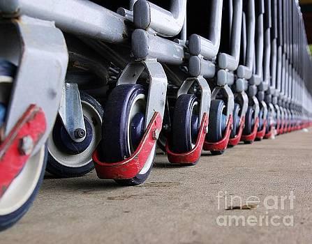 Cart Wheels by John S