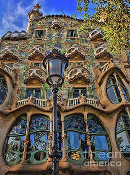 Casa Batllo Gaudi by Henry Kowalski
