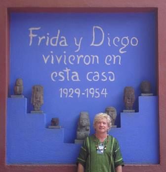 Casa de Frida Kahlo 2012 by Randy Burns