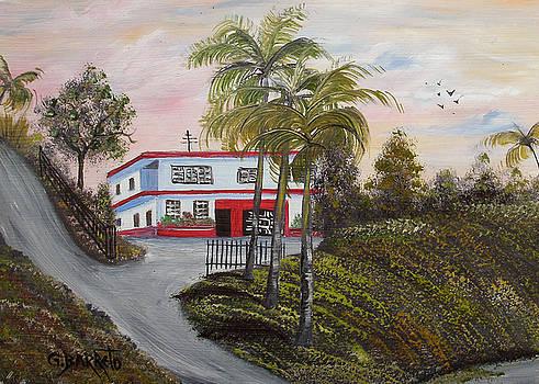 Casa En Montanas De Cerro Gordo by Gloria E Barreto-Rodriguez