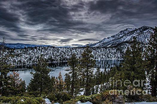 Cascade Lake Winter by Mitch Shindelbower