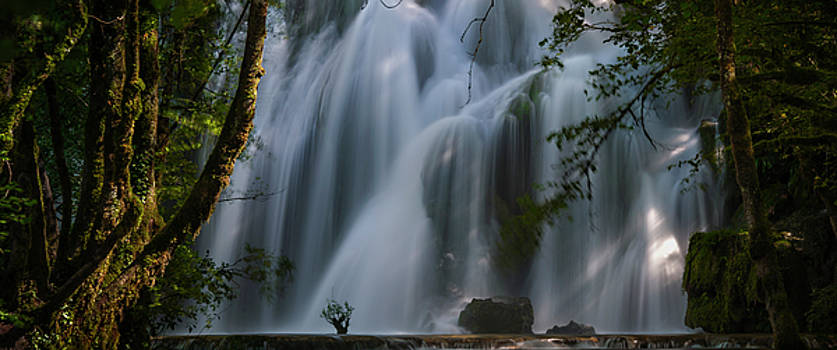 Cascade Planches d Arbois by Jens Tischer