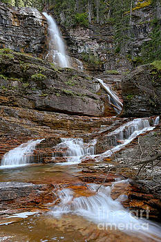 Adam Jewell - Cascades At Virginia Falls