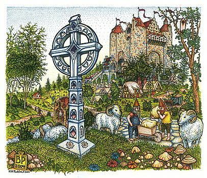 Castle Cross by Bill Perkins