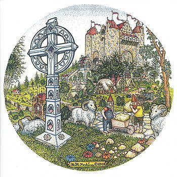 Castle Cross Circle by Bill Perkins