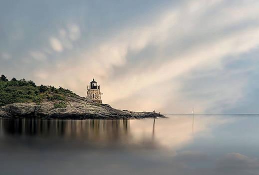 Castle Hill Light by Robin-Lee Vieira