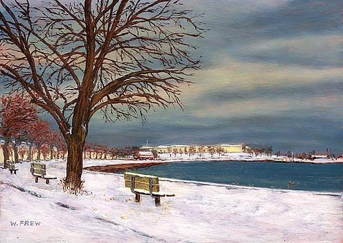 Castle Island - Winter by William Frew