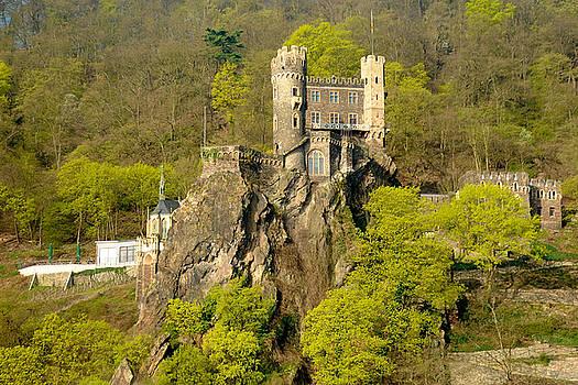 Castle on a Rock by Richard Gehlbach