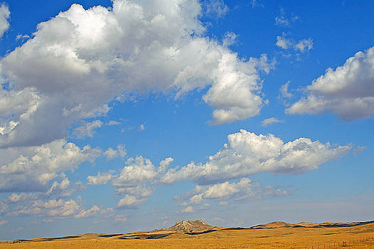 Castle Rock Clouds by Bill Morgenstern