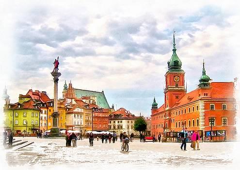 Castle Square, Warsaw by Maciej Froncisz