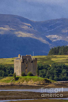 Castle Stalker Argyll, Scotland by Chris Thaxter