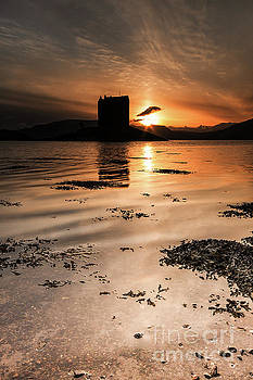 Castle Stalker at Sunset by Keith Thorburn LRPS