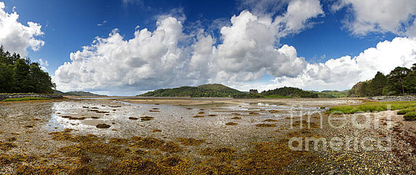 Castle Tioram panorama by Jane Rix