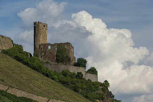 Castle With Clouds 02 by Teresa Mucha