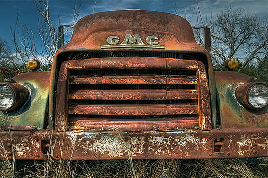 Catfish Face GMC by Terry Hollensworth-Rutledge