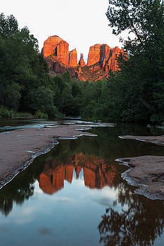 Cathedral Sunset by Bill Cantey