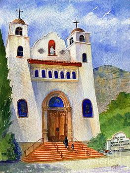 Catholic Church Miami Arizona by Marilyn Smith