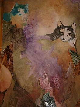 Catscape by Claudia Stewart