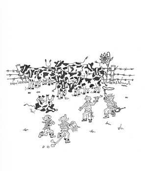 Cattle Rustlers by Mary Ellen Mueller Legault