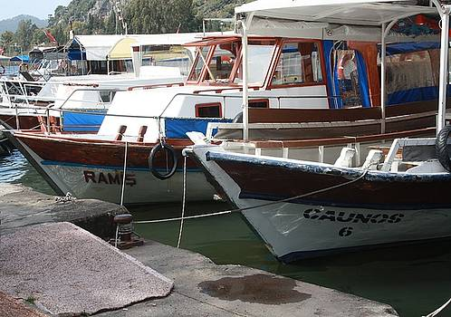 Tracey Harrington-Simpson - Caunos Riverboats at Dalyan