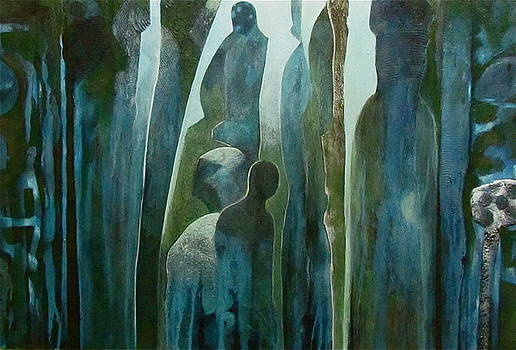 Cave Dwellers by Bonnie  Schulte