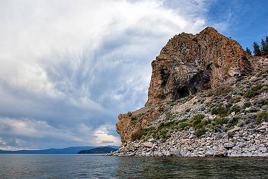Cave Rock - Lake Tahoe - Nevada by Bruce Friedman