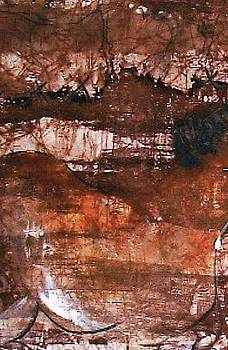 Cave Wall Three by Wendy Head