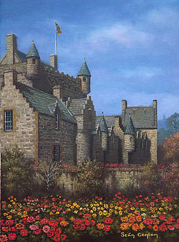 Cawdor Castle in Summertime by Sean Conlon