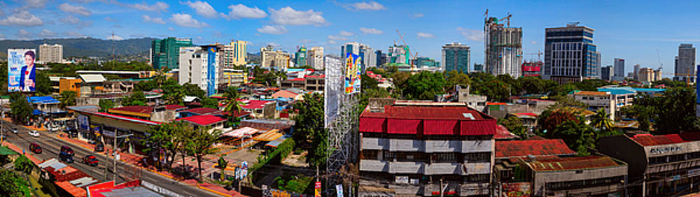 Cebu City Philippines Panorama by James BO Insogna