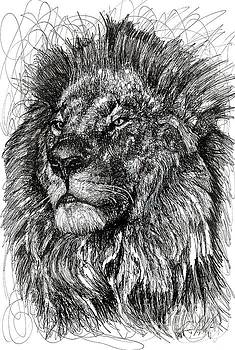 Cecil The Lion by Michael  Volpicelli