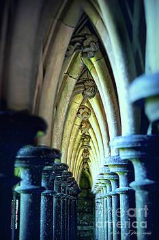 Ceiling Pilars by Linda Olsen