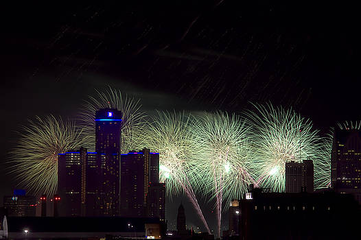 Celebrate Detroit by Dave Manning