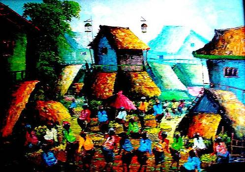 Celebration For The Villagers by Yuki Othsuka