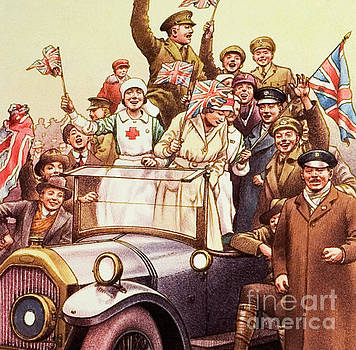 Celebrations post World War I by Pat Nicolle