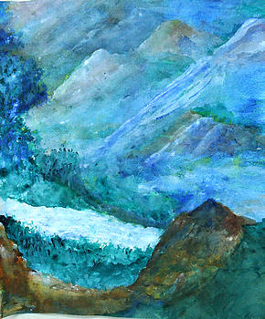Celestial mountains by Sanjay Sonawani