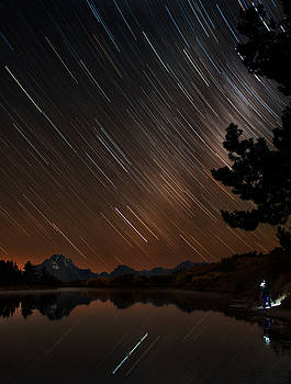 Celestial Patience At The Oxbow Bend by Mike Berenson
