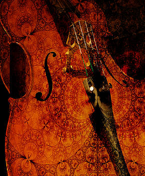 Cellos at Midnight by Michele Cornelius